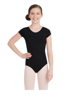 Picture of Capezio Child Short Sleeve Nylon Leotard