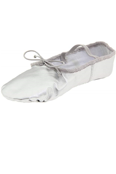 Picture of Dance Class Women's Silver Leather Ballet