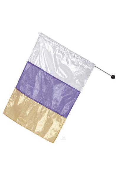 Picture of Eurotard Metallic Tri Color Dance Flag