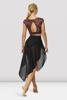 Picture of Bloch Extended Hem Side Split Skirt