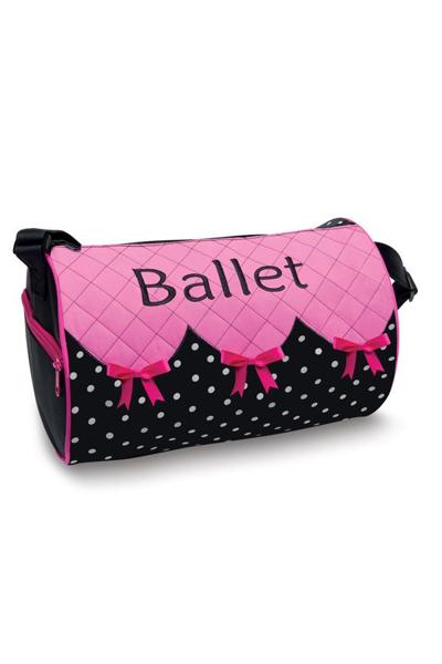 Picture of Danshuz  BOW 'N' BALLET DUFFEL bag