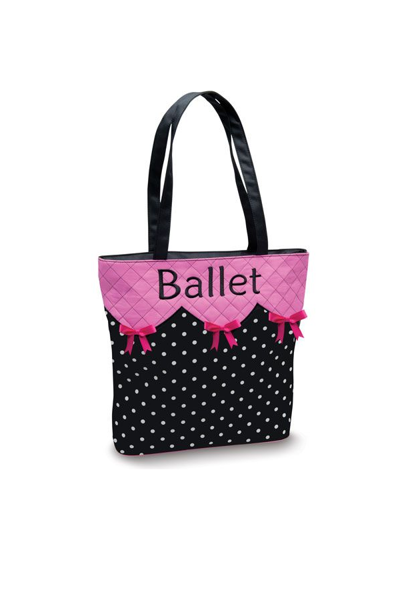 Picture of Danshuz BOW 'N' BALLET TOTE