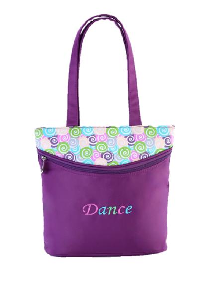 Picture of SASSI Designs Lollipop Small Dance Tote Purple POP-01