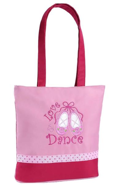 Picture of SASSI Designs Love Dance, dance bag. pink L2D-01PK