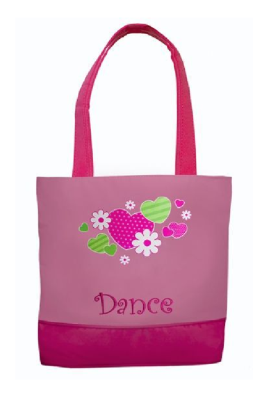 Picture of SASSI Designs PINK AND GREEN DANCE BAG HNF-01
