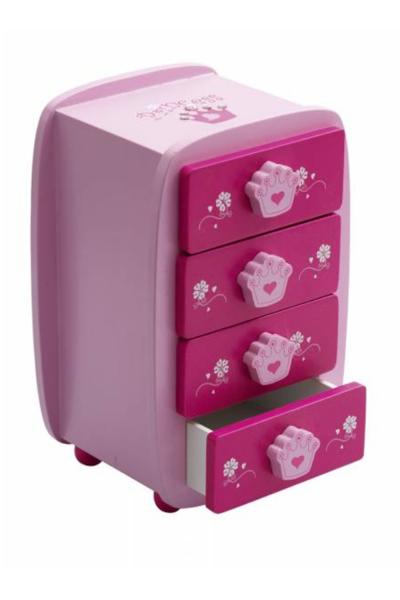 Picture of Katz 4-Drawer Princess Jewellry Box