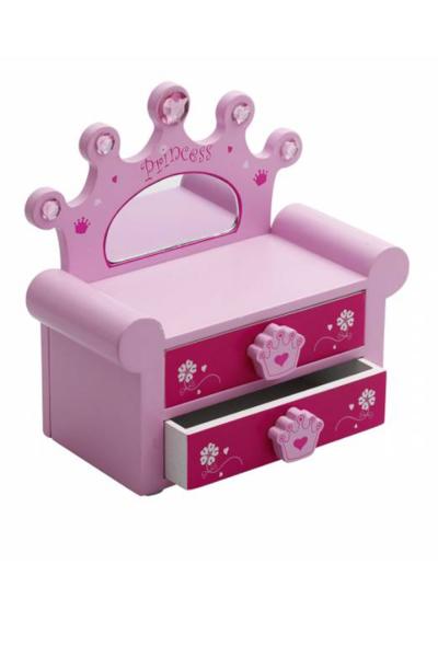Picture of Girls' Princess Jewellery box