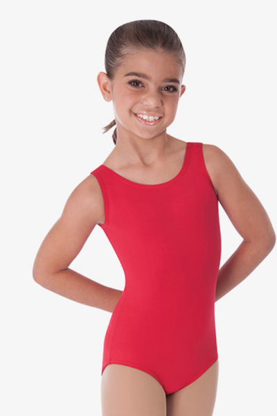 Picture of Body Wrappers Child Tank Leotard Custom
