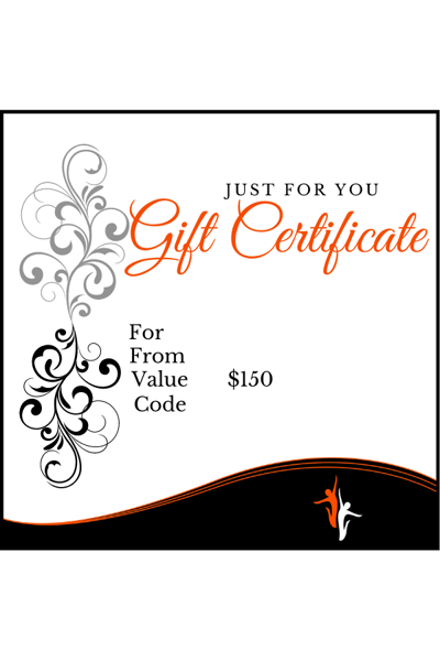 Picture of Gift Card Value $150