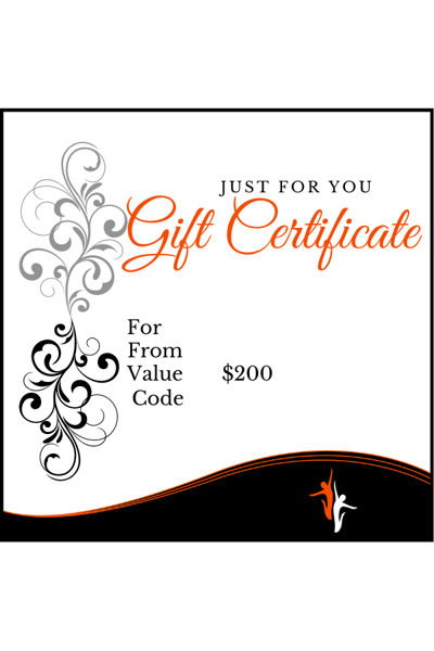 Picture of Gift Card Value $200