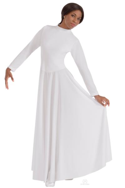 Picture of Eurotard Womens High Neck Simplicity Praise Dress