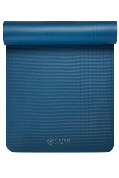 Picture of GAIAM Essentials Fitness Mat w/carry strap