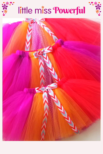 Picture of Little Miss Powerful Tutu