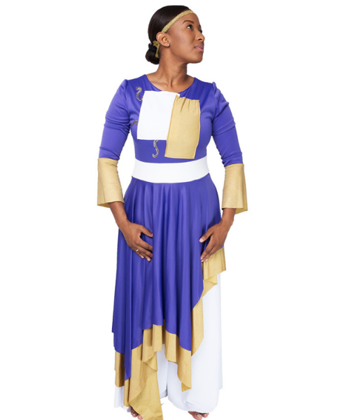 Picture of His Glory, His Royalty Worship Dress