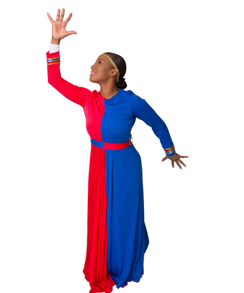 Picture of His Grace, His Salvation Praise Dress