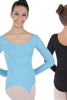 Picture of Body Wrappers Girls Long Sleeve Leotard