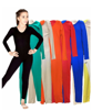 Picture of Body Wrappers Girls Long Sleeve Unitard